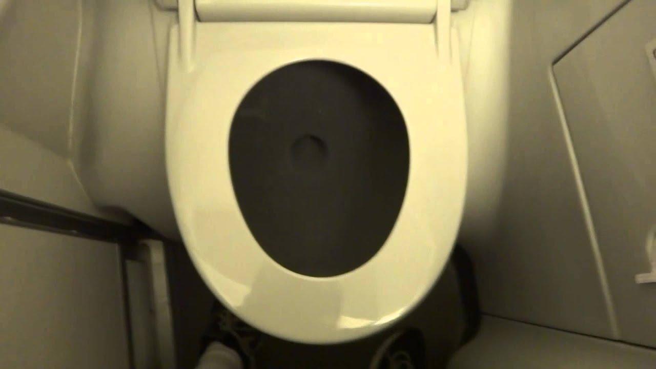 Boeing 737 Restroom - YouTube