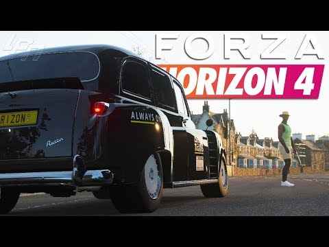 Crazy Taxi?! Isha's Taxis - FORZA HORIZON 4 Part 94 | Lets Play thumbnail