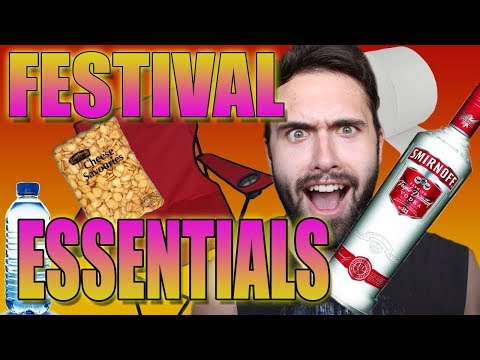 Music Festival Essentials - Price Breakdown