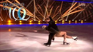 Team GB's Nick and Penny Skate Their Hearts Out   Dancing On Ice 2019
