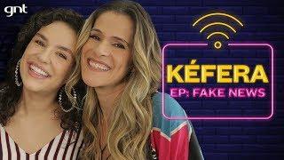 Kéfera fala sobre fake news e o fim do 5inco Minutos   Ingrid Guimarães   Além da Conta - Tem Wi-Fi