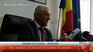 Adrian Ţuţuianu, senator: Îmi reproşez că am avut încredere în oameni!