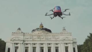 Первый в мире беспилотный дрон такси EHang 184(, 2016-08-25T08:11:29.000Z)