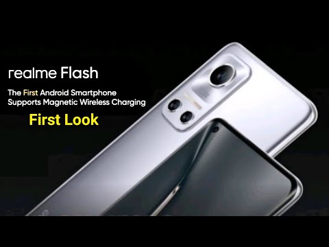 Realme Flash With Magnetic Wireless Charging   SD 888   Curved Amoled Display