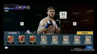 EA Sports UFC mobile Gameplay Level 22 -23 v Antonio Silva
