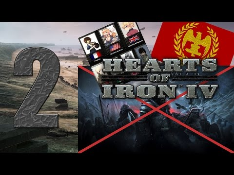 Cannones and Germans! - Hearts of Iron 4 Random Mods Letsplay pt2