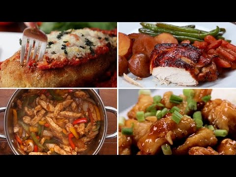 7 Easy Chicken Dinners