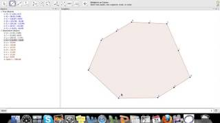 Graphing Polygons and Finding Midpoints in GeoGebra