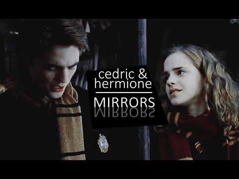 cedric & hermione | you're my mirror