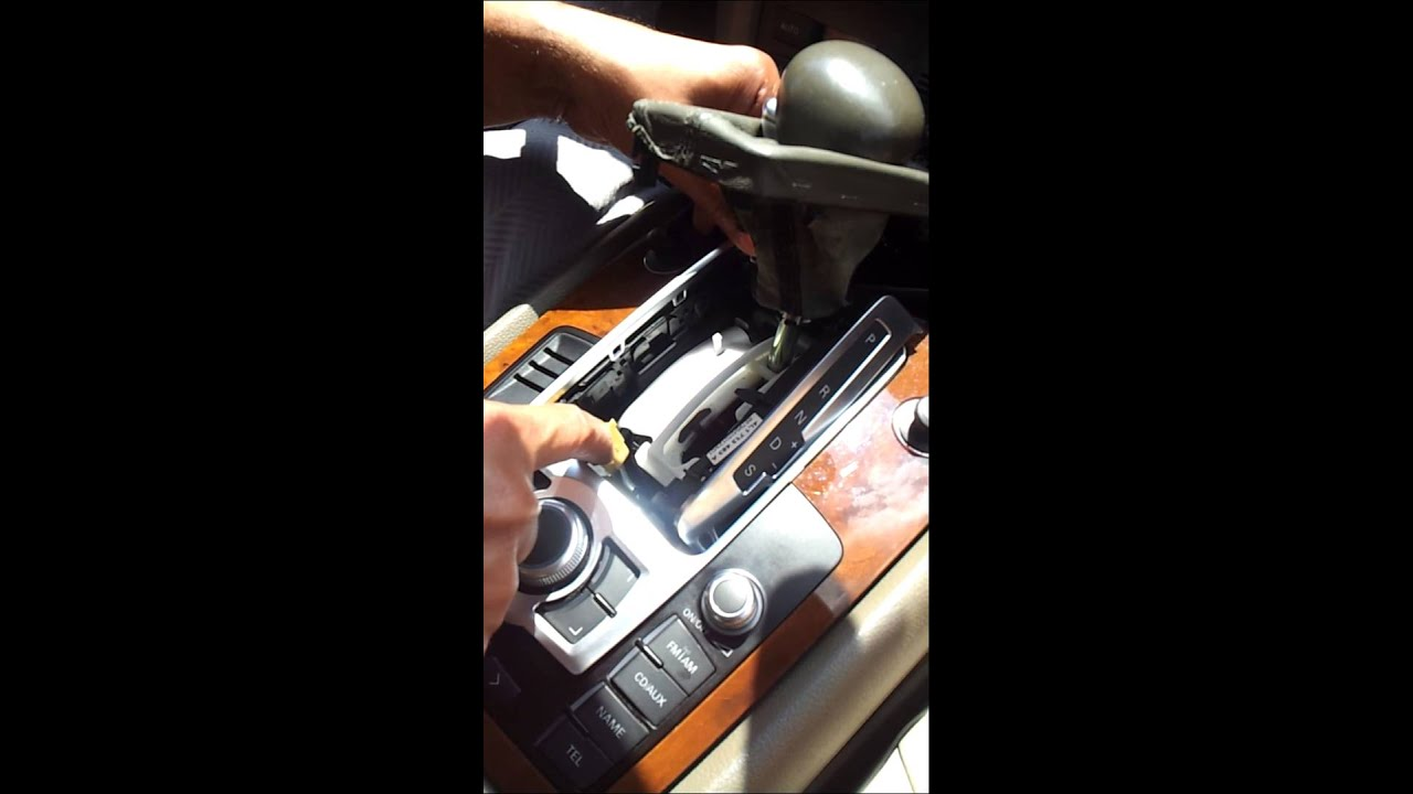 Audi q7 2007 2009 mmi control panel removel from audi to fix youtube asfbconference2016 Gallery