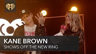 Kane Brown Shows Off His Wedding Ring! | iHeartCountry Album Release Party