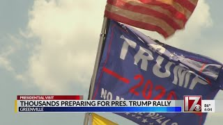 Trump: North Carolina key to upcoming presidential election
