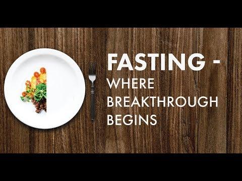 """5/30/18 """"FASTING: WHERE BREAKTHROUGH BEGINS"""" –Pastor Shane Idleman"""