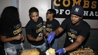 Celebs volunteer for the 1st CombsGiving Day, Happy Thanksgiving!
