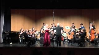 Mozart Violinkonzert Nr. 1, Nathalie Schmalhofer