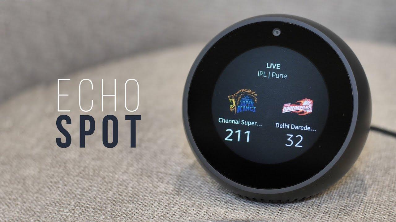 Amazon Echo Spot The Best Looking Echo You Shouldn T Buy Youtube