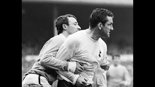 Dave Mackay vs Burnley FA Cup Final 1962 (All Touches & Actions)