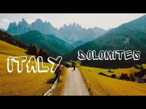 Путешествие на машине по Италии. Доломитовые Альпы. Позитано. Сертификаты CUVA