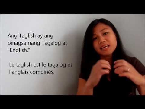 Introduction à la langue tagalog (filipino) - avec sous-titr