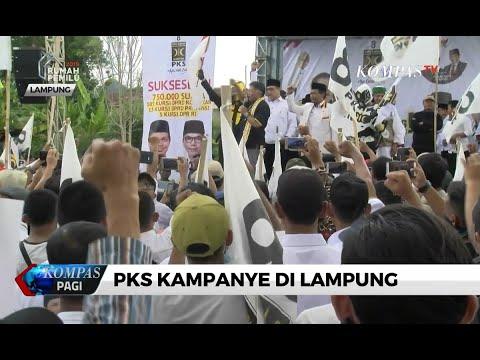 Upaya Pemenangan Pemilu, PKS Gelar Kampanye di Lampung