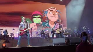 Gorillaz - Aries feat. Peter Hook Live at The O2 Arena, London, 11/08/21