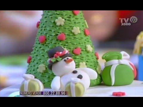 Decorazioni natalizie utilizzando la pasta di zucchero for Youtube decorazioni natalizie