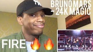 Bruno Mars - 24K Magic AMA's REACTION!!!