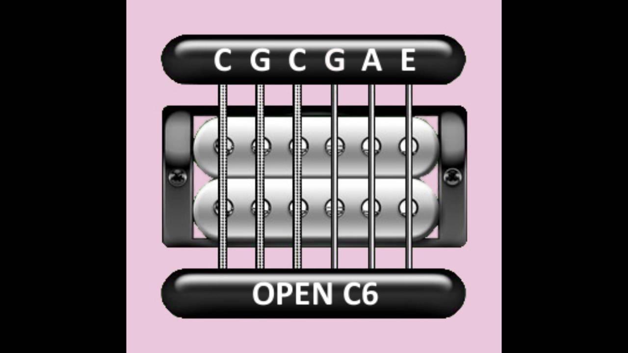 perfect guitar tuner open c6 c g c g a e youtube. Black Bedroom Furniture Sets. Home Design Ideas