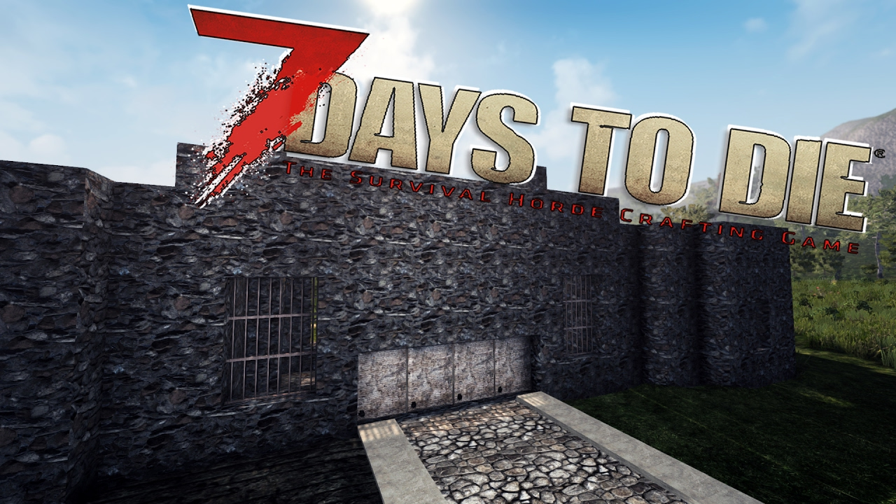 Double doors glass water 7 days to die s09e88 youtube for Door 7 days to die