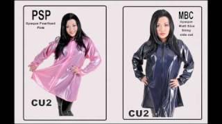 PVC Ladies Fashion Jackets - CU2 -
