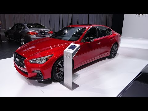 2019 Infiniti Q50 Red Sport 400 - Motor Show Take Review (4K)