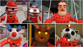 ROBLOX PIGGY NEW LADYBUG JUMPSCARES - Roblox Piggy Book 2 rp