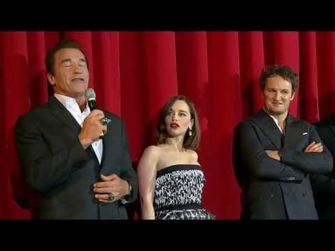 Terminator Genisys European Premiere Stage Presentation