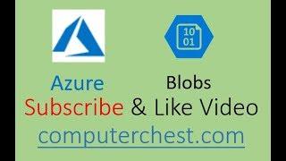 إنشاء Azure Blob باستخدام البوابة - AZ-100
