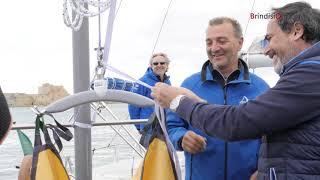 Gv3 inaugura al Marina di Brindisi il paranco per persone con disabilità motorie