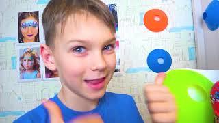 Cinco Crianças desafios engraçados para crianças