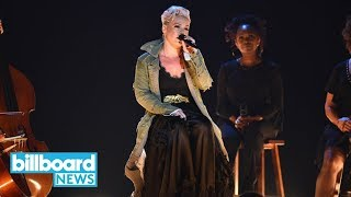Pink Delivers Heartfelt 39 Barbies 39 Performance at 2017