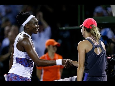 2018 Miami Quarterfinals | Venus Williams vs. Danielle Collins | WTA Highlights