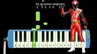 Download Not Pianika Power Ranger Ninja Steel Opening