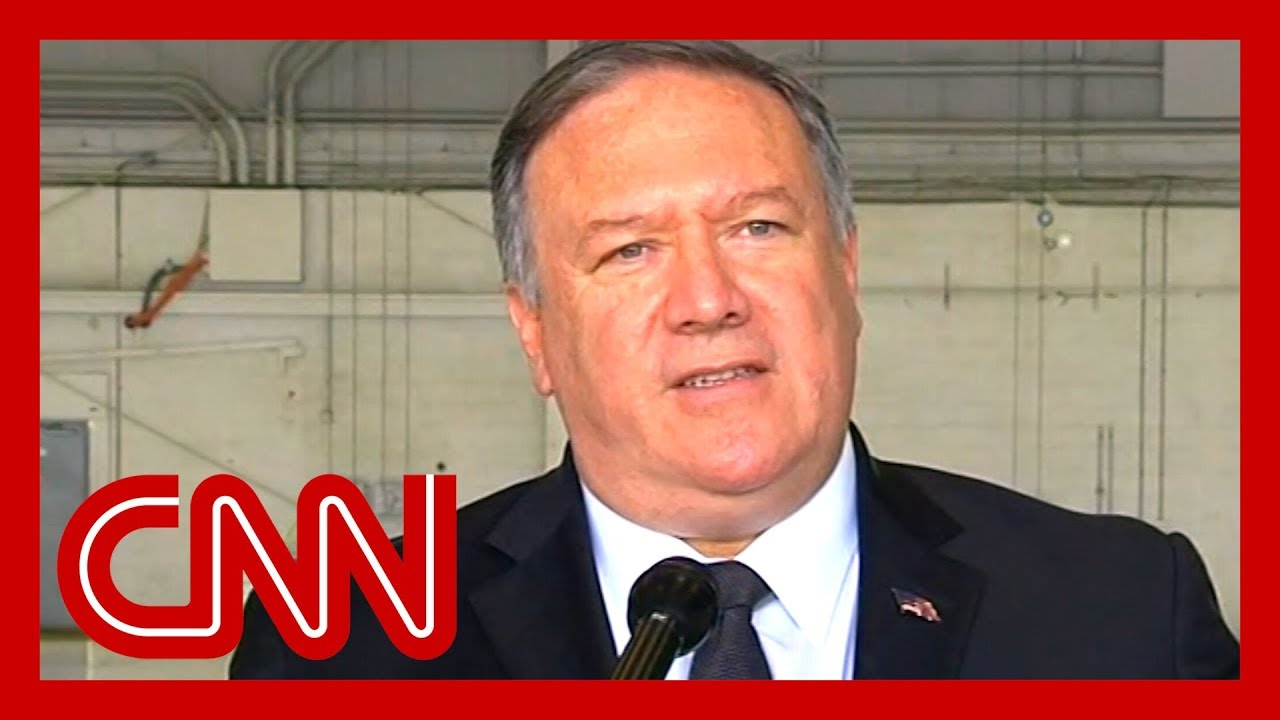 CNN:Pompeo: Trump doesn't want war with Iran