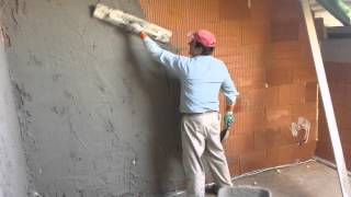 Tynki ręczne tradycyjne, cementowo - wapienne
