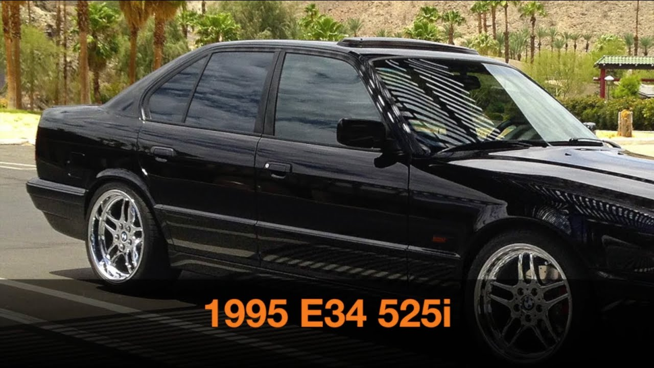 1995 bmw e34 525i 5 speed fly bys plus other views youtube publicscrutiny Images
