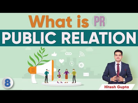 What is Public Relations in Marketing | What is PR in Marketing | Learn Marketing in Hindi by Hitesh
