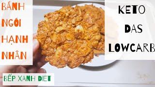 Cách làm bánh ngói hạnh nhân KETO/DAS - How to make Keto Almond Tuiles