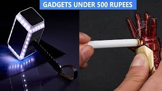 5 COOL HI-TECH GADGETS UNDER 500 RUPEES ▶ You Can Buy On Amazon