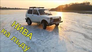 ВАЗ 2121 НИВА на льду