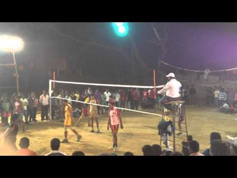 KGF Volleyball 2014 Finals in King George Hall