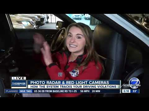 Photo radars and red light cameras tracking driving violations in Denver