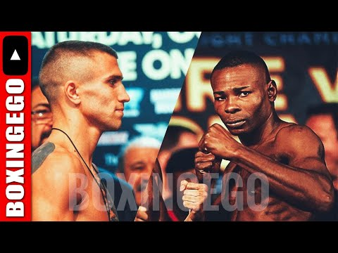 GUILLERMO RIGONDEAUX QUESTIONS LACK OF PROMOTION FOR VASILIY FIGHT NEXT MONTH (HMMM)