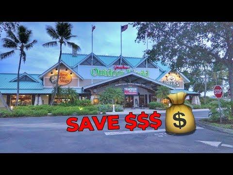 SAVE Money Tackle Shopping At BASS PRO!!!